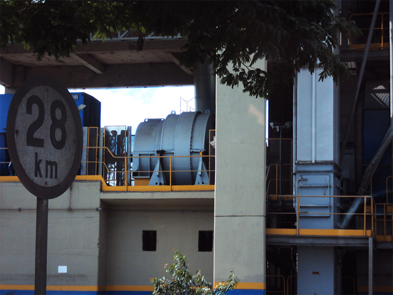 P Series Planetary Gearbox Working in Votorantim Cement Plant in Brazil