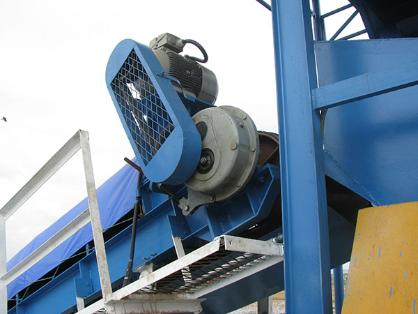 ATA Series Shaft Mounted Gearbox Applied to Conveyor