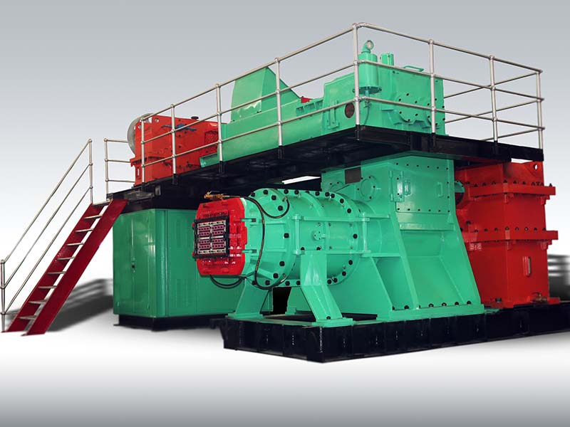 Gearboxes in Brick Production Line