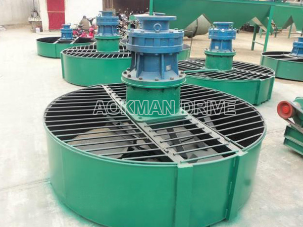 Cycloidal gearboxes applied in mixer