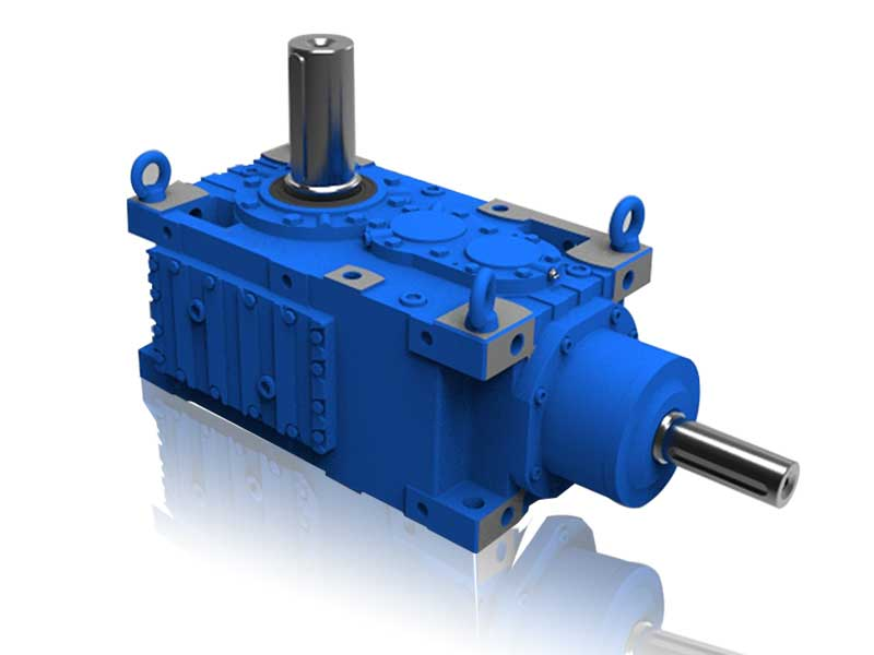 MC.B Series Orthogonal Shaft Right Angle Gearbox