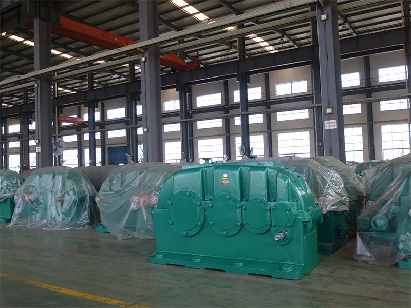 ZY Series Helical Cylindrical Gearbox