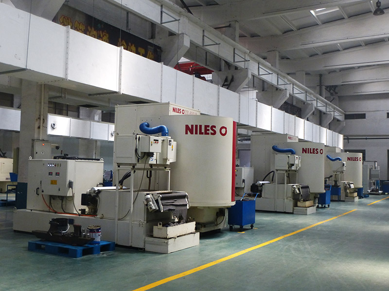 NILES CNC Gear Grinding Machines Workshop