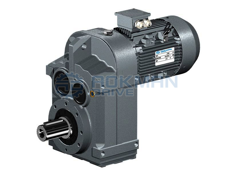 f series parallel shaft helical gear motors gearboxes