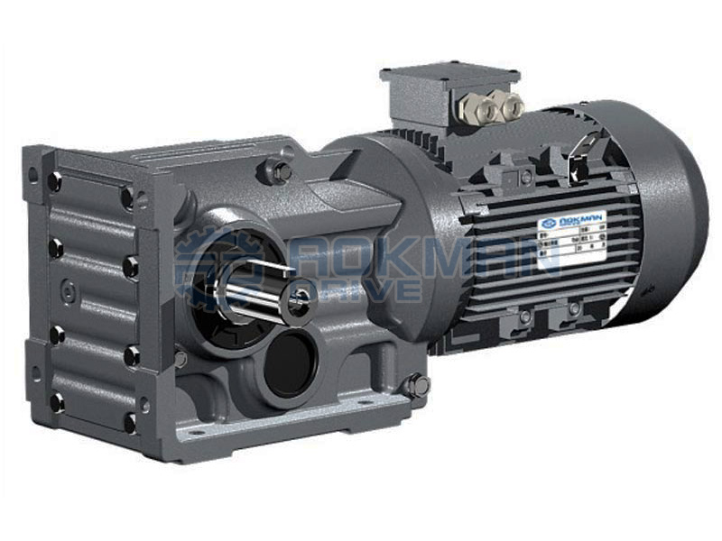 K series helical bevel gear motors gearboxes right angle Gearbox motors