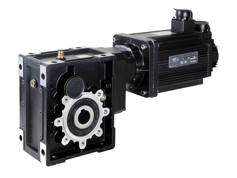 KM Series Hypoid Gearbox with Servo Motors