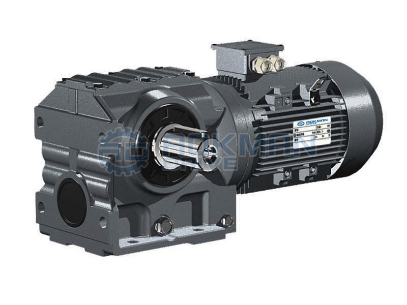 Foot Mounted S Series Helical-worm Gear Motors