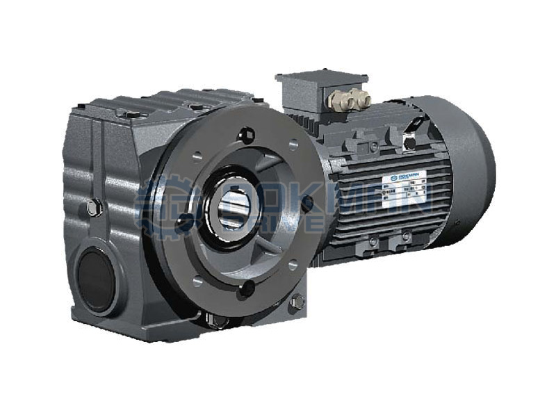 B5 Flange Mounted SAF Series Helical-worm Gear Motors