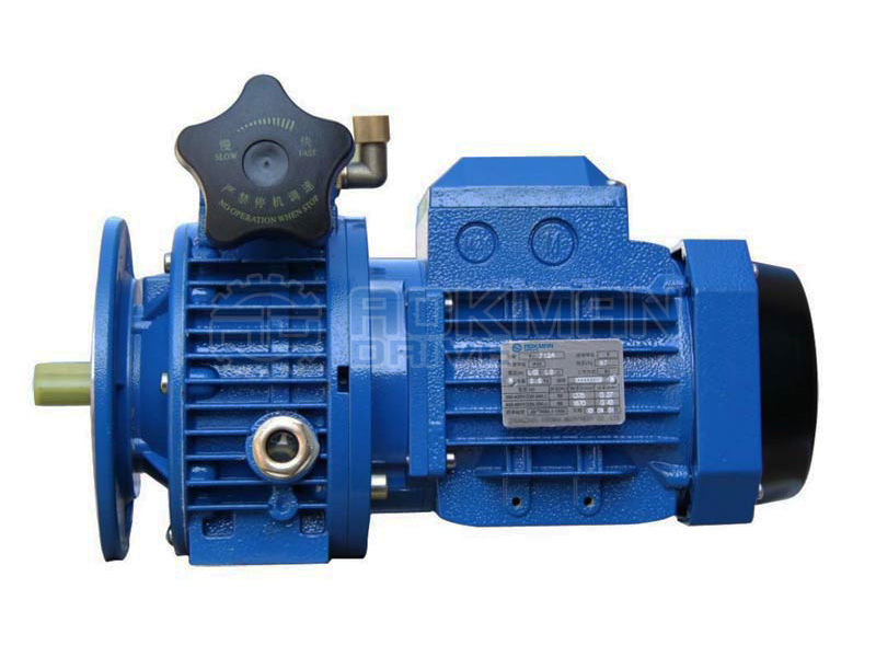 Udl ud series mechanical speed variators variable speed for Variable speed gear motor