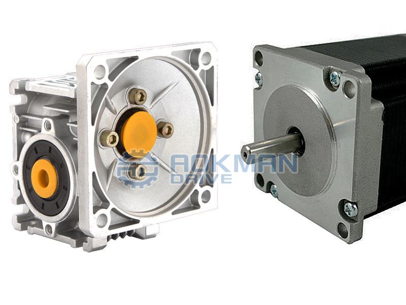 NMRV Series Worm Gearbox With Servo Motors