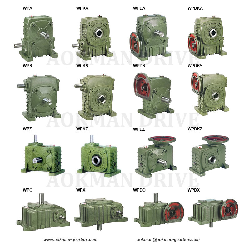 WP Series Worm Gearboxes